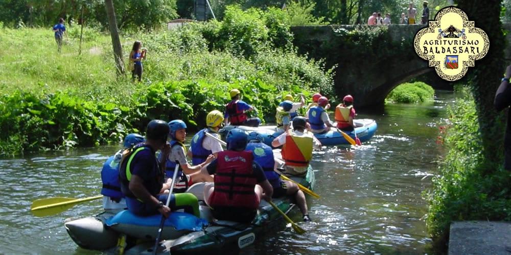 rafting e fiume nera